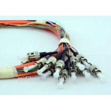 ST Fiber Optic Pigtail, 2.0mm / 3.0mm Kabeldurchmesser für CATV LAN WAN