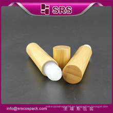 Alta calidad con buen precio y botella elegante de la crema del ojo, botella roll-on de bambú