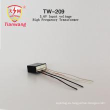 Transformador de alta frecuencia de voltaje de entrada 3.6V