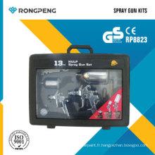 Kits de pistolets pulvérisateurs Rongpeng R8823 HVLP