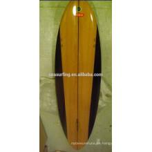 tabla de surf del grano de madera para la venta / espacios en blanco de la tabla hawaiana de la espuma