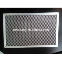 Fabrication filtre de filtre à air filtre de filtre à air en aluminium