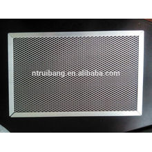manufacturing pre filter filtration grade air filter aluminum frame Carbon Cabin Air Filter