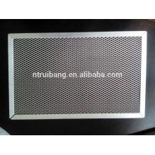 fabricação filtro de ar da cabine do carbono do quadro de alumínio do filtro de ar da categoria da filtragem do filtro pre