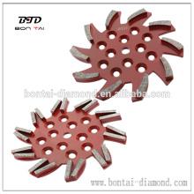 250mm nuevo diamante placa de molienda
