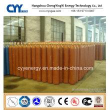 Cylindre d'acier à l'azote oxygène à oxygène carboné à haute pression 50L à faible teneur