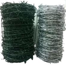 Customized Galvanized Steel Barb Wire Mesh Anti-Climbing Fence