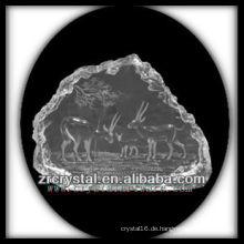 K9 Kristall Intaglio von Form S077