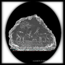 K9 Cristal Intaglio de Moule S077