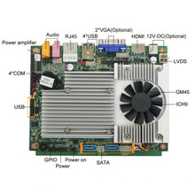 Laptop Computer Parts Mainboard Supermicro Motherboard With1MB, CPU Integrated