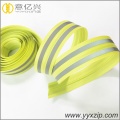 High visibility glow reflektif tape tahan air ritsleting