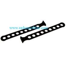 Custom Adjustable Silicone Rubber Tie-Down Strap