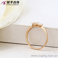 13098- Xuping 18K Gold Plated Jewelry Wholesale Luxury Wedding Ring