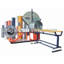 spiral tube former machine,tube making machine, duct machine china