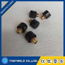 WP20 tig soudage consommables soudure 41v33 capuchon arrière court pour tig secouer les accessoires de la torche