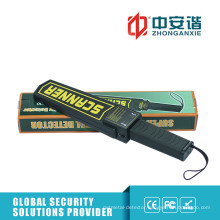 25 kHz Checkpoint Inspection Hand Metal Detector with Rechargeable Battery