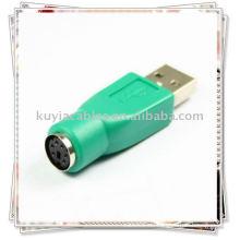 PS2 TO USB PORT KONVERTER ADAPTER FÜR PC KEYBOARD MAUS