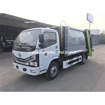 Garbage Compactor Truck with Rear Bin Lifter