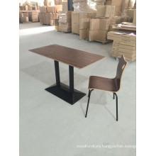 Plywood Restaurant Furniture Dining Table Set (FOH-CXSC67)