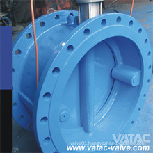 Cast Iron RF Flanged Butterfly Check Valve