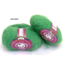 Alta calidad que hace punto el estilo de Turquía del hilado de lana del punto de la mano de Angola