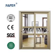 Высокое качество большой раздвижной туалет стеклянная дверь (РА-G148)