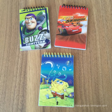 Mini Spiral Cheap Notepad Notebook Note promotionnelle cadeau