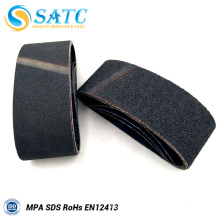 Silicon Carbide Polyester Sanding Belt in Abrasive 10 Pack