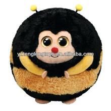 Einzigartige Design-Sphäre Smiley-Cartoon gefüllte Biene