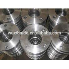 Präzisionsstahl CNC bearbeitete Teile / Flansch CNC gefräst, benutzerdefinierte Stahl Flansch Cnc gedreht Stahl Flansch mit guter Qualität