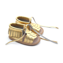 Läder Soft Sole Baby Girl Toddler Sandals