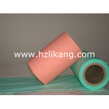 20 GSM Green Color PE Film for Female Sanitary Pads and Panty Liner