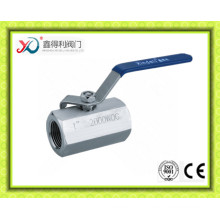 Manufacturer DIN 1PC Stainless Steel 1.4408 Ball Valve Pn63 Dn20