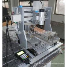 Mini machine de gravure cnc 4ème axe