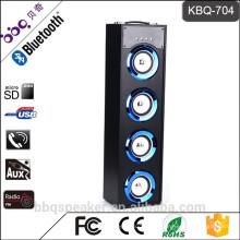 Барбекю КБК-704 40Вт емкость 5000mah 2016 Профессиональный Bluetooth башня динамик беспроводной аудио для продажи