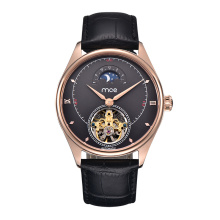 Anpassa logotypen Rose Gold Mechanical Automatic Watch