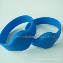 Сверхлегкий силиконовый браслет MIFARE RFID для больницы