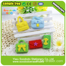 SOODODO Idea Stationery Gift Fancy Bird Shaped Eraser