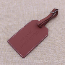 2015 Hot Sale Fashion Brown Luggage Tag for Promotion