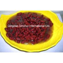 400g / 200g de frijoles rojos enlatados en agua (HACCP, ISO, BRC)