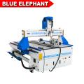 Синий слон 1325 4 оси фрезерный станок с ЧПУ дерево резьба машина с CE сертифицированный