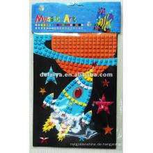 Kinder DIY Mosaik Schaum Aufkleber für Rocket
