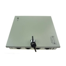 12v 6ch power supply with metal box