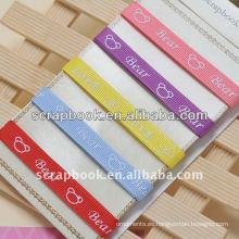 cinta de tela decorativa de la cinta