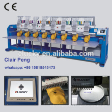 Elucky similar barudan embroidery machine prices used for cap t-shirt flat embroidery