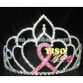 large pageant crystal ribbon queen rhinestone birthday tiara