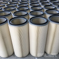 Industrial dust collector filter element