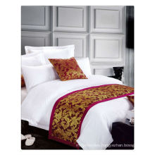200-400T Egyptian Cotton pure white 5 star hotel bed linen set
