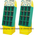 9 Cells Merchandiser Cartón Display Racks, Paper Stands