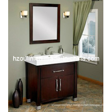 Solid Wood Bathroom Vanity (BA-1105)